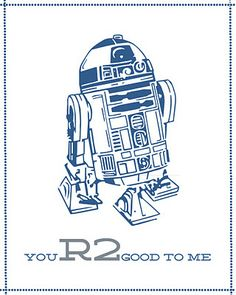 Free star wars printables. R2d2 clipart valentines png