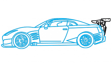 r34 drawing logo