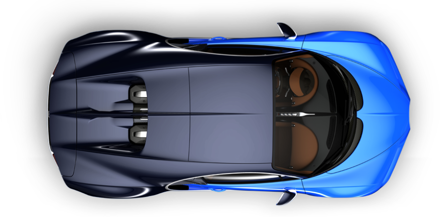 Supercar drawing agera. Bugatti chiron top view