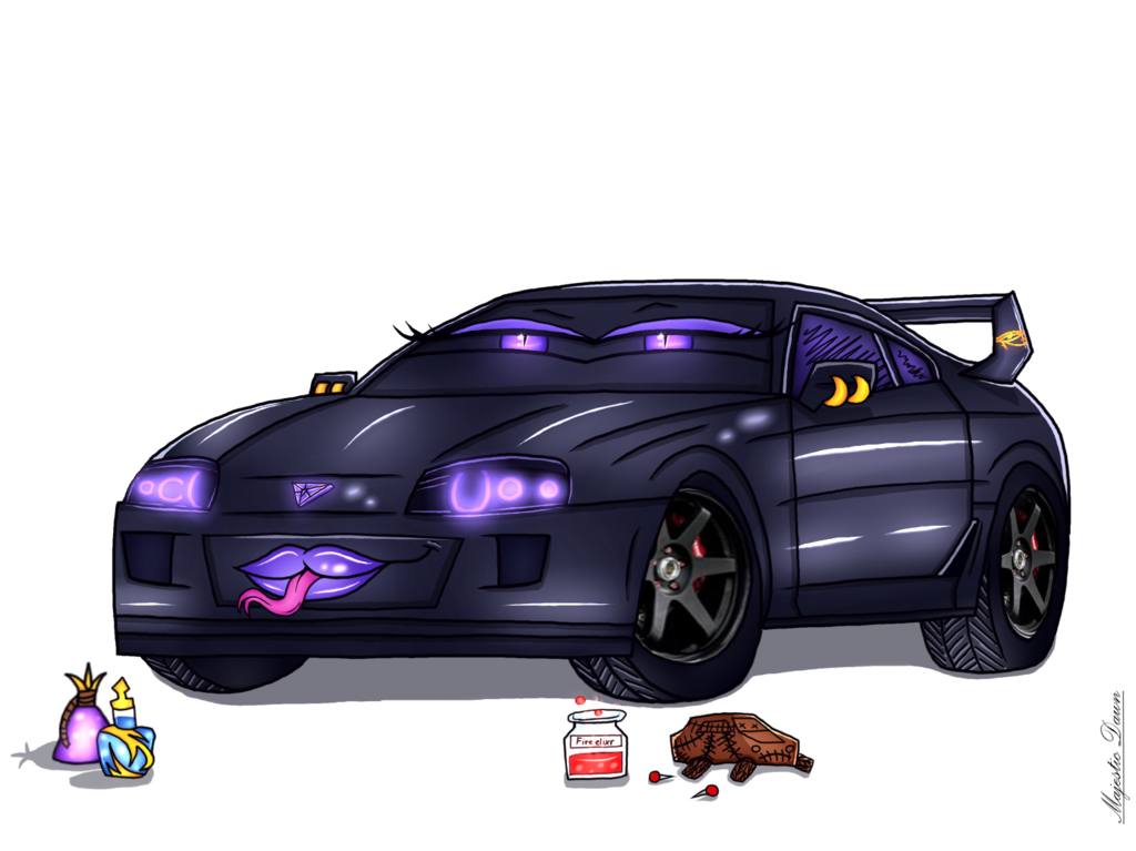 R34 drawing supra toyota. The potion mixer finished