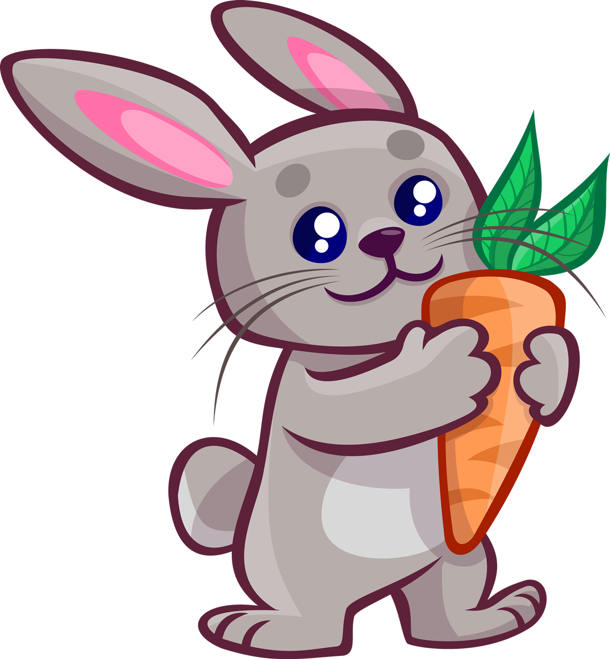 Rabbit clipart. Roger at getdrawings com