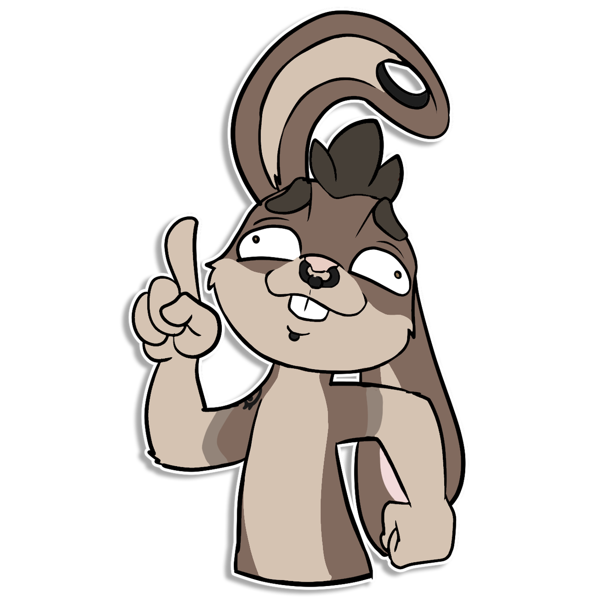 rabbit furry png