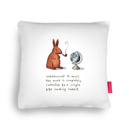 Rabbits drawing smoking. Unbeknownst to most the