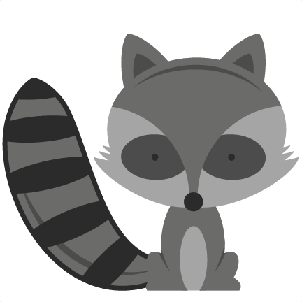 Woodland animals png. Free baby raccoon cliparts