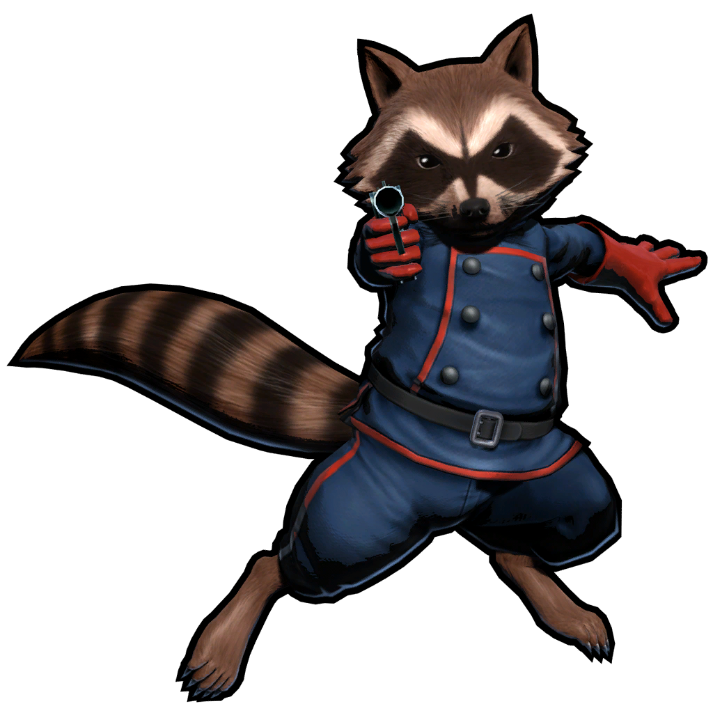 Rocket raccoon png. Your guess on the