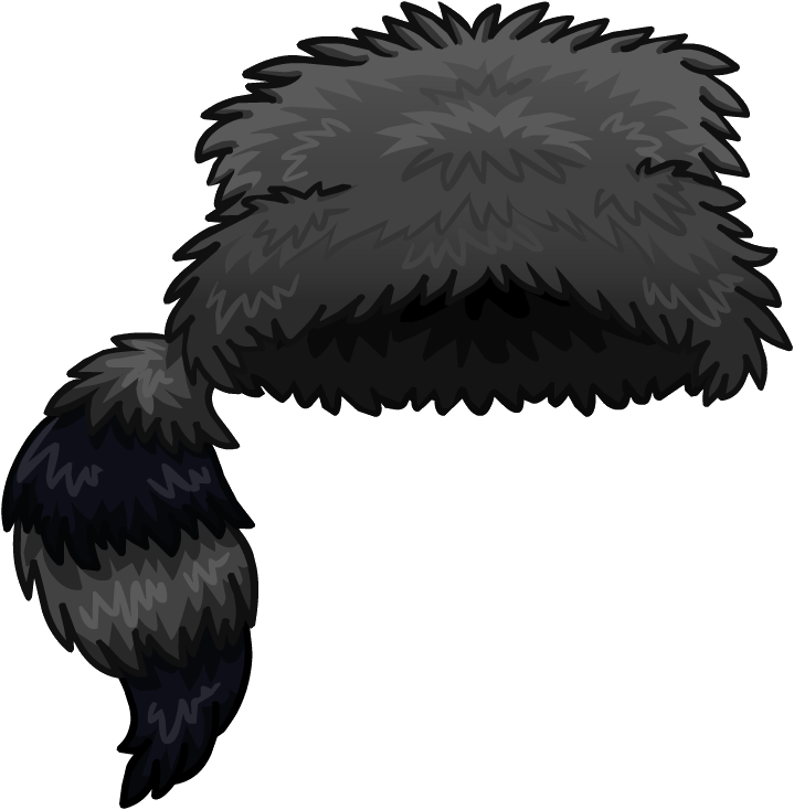 raccoon hat png