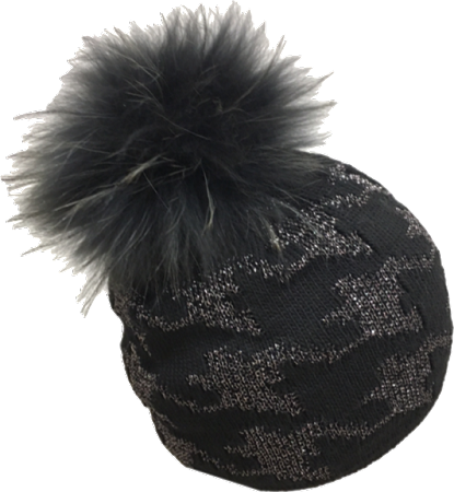 Raccoon hat png. Jj black and silver