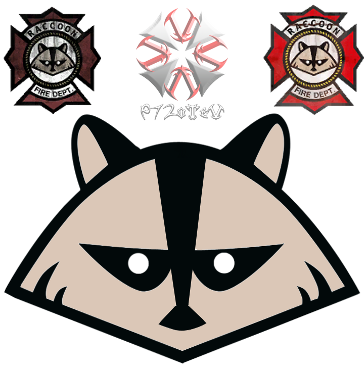 Raccoon logo png. City by otev on