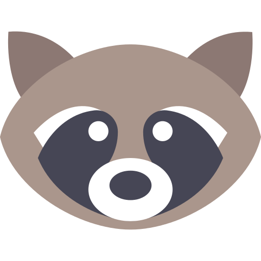 Raccoon logo png. Icon repo free icons