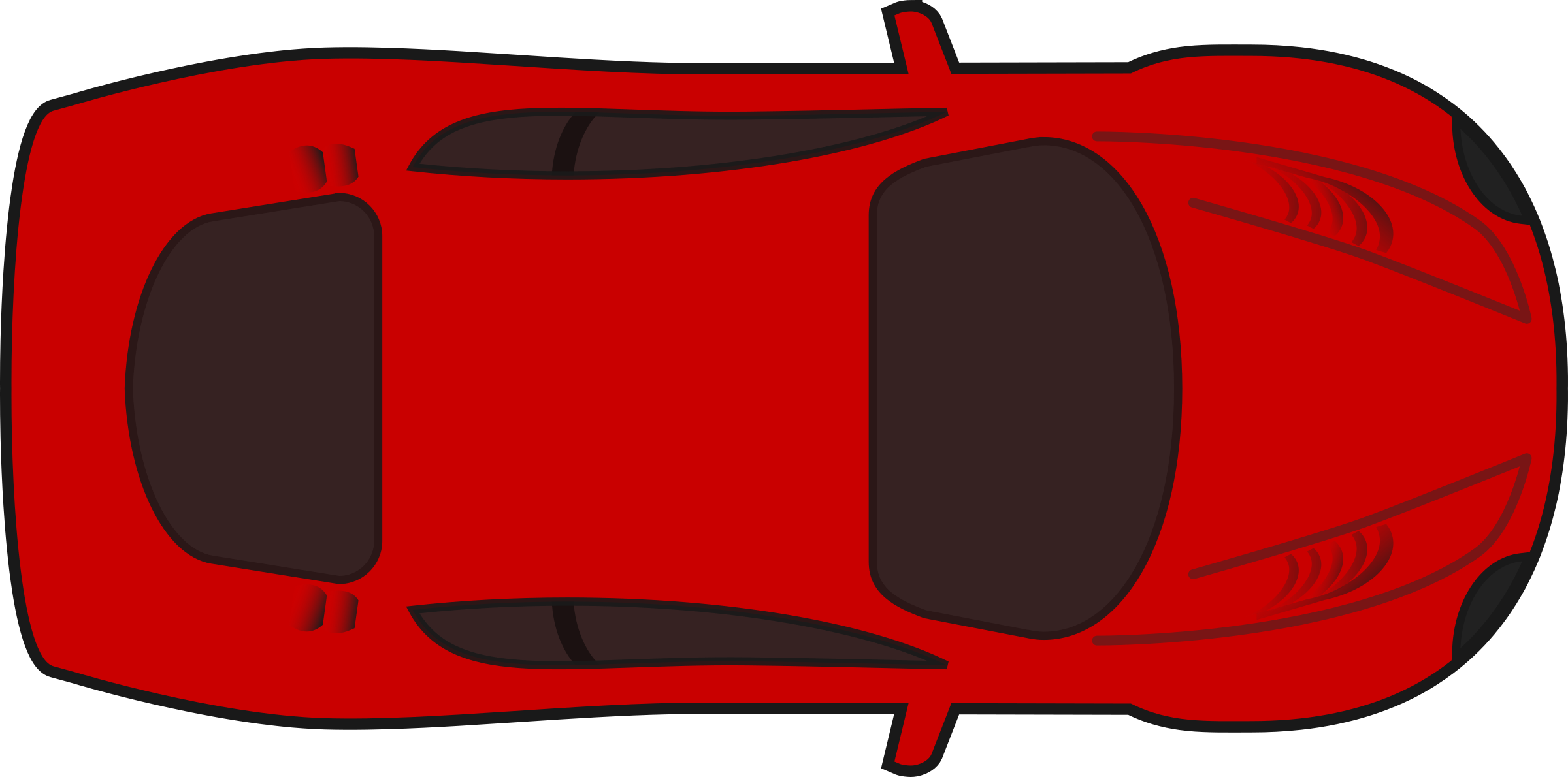 Race car sprite png. Clipart red racing top