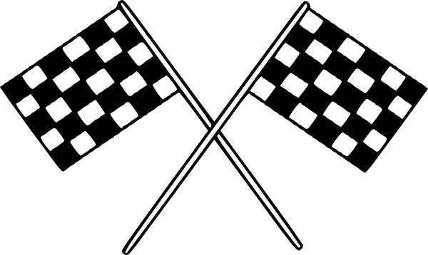 Racing clipart. Free race border cliparts