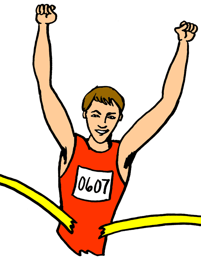 Racing clipart student sport. Free kids running download