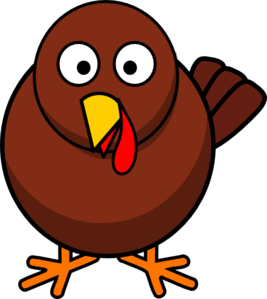 Vector sandwich turkey. Running clipart black and