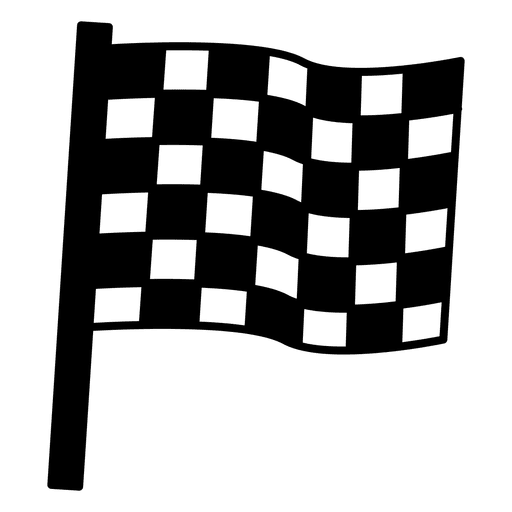Checker vector race finish. Car racing black and