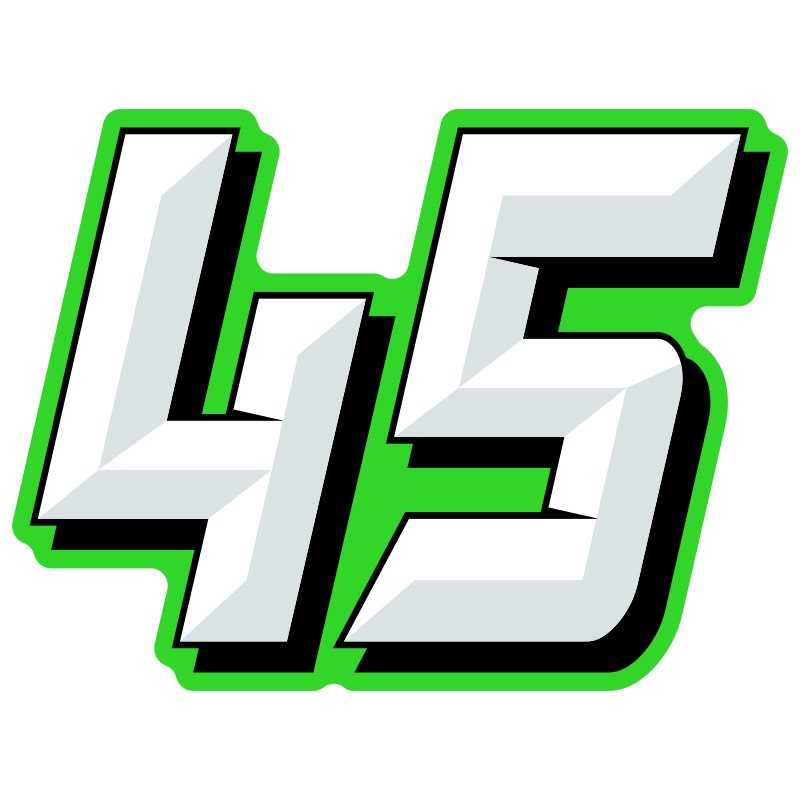 Race numbers png. Multicolored chiseled design mxnumbers