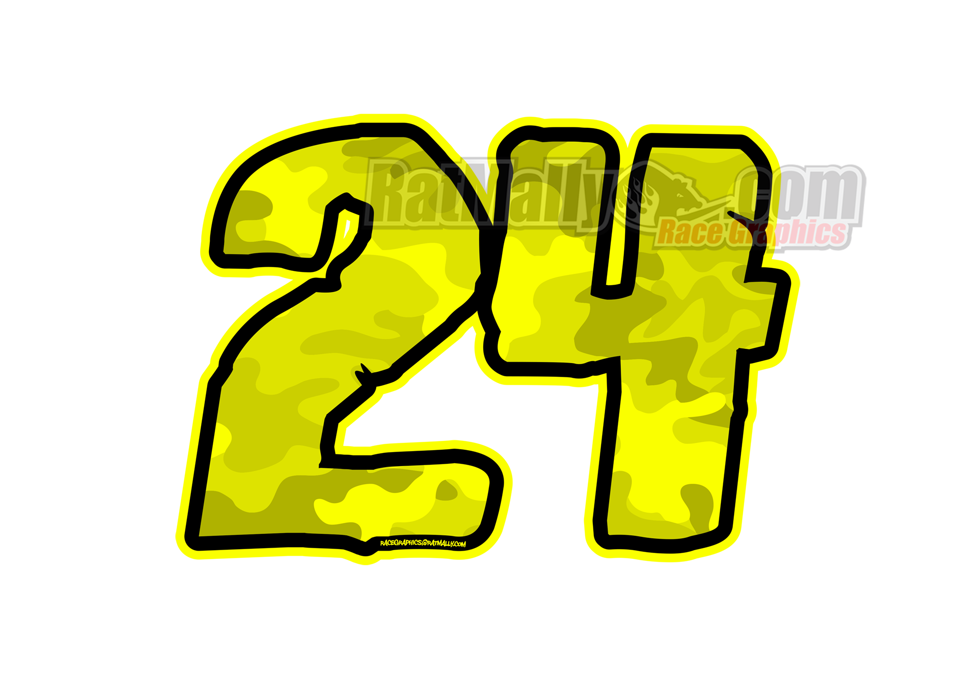 Race numbers png. Camo flo edition ratmally