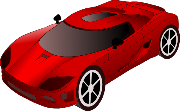 Drawing sports sportscar. Race car clipart for