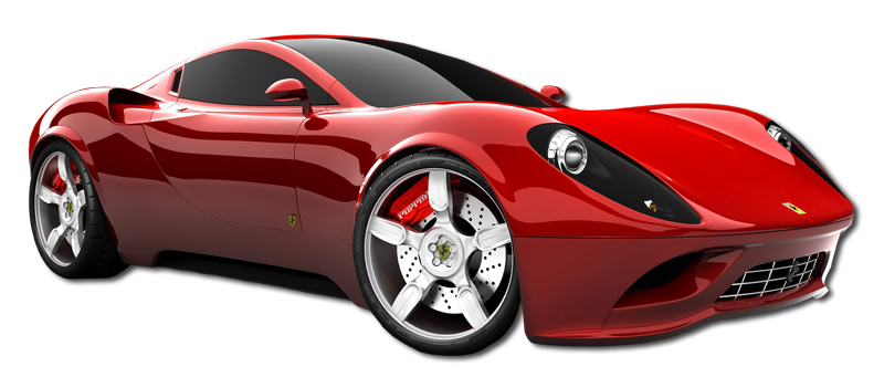 red sports car png