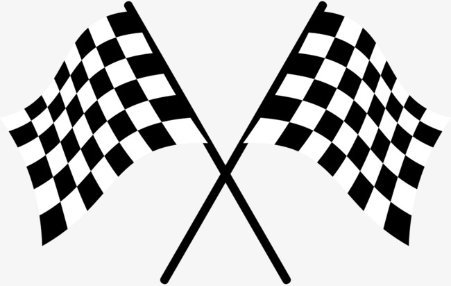 Racing clipart racing banner. Flag game with flags