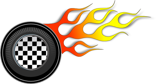 tire clipart smoking tire