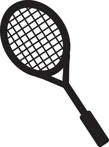 Tennis panda free images. Racket clipart jpg freeuse stock