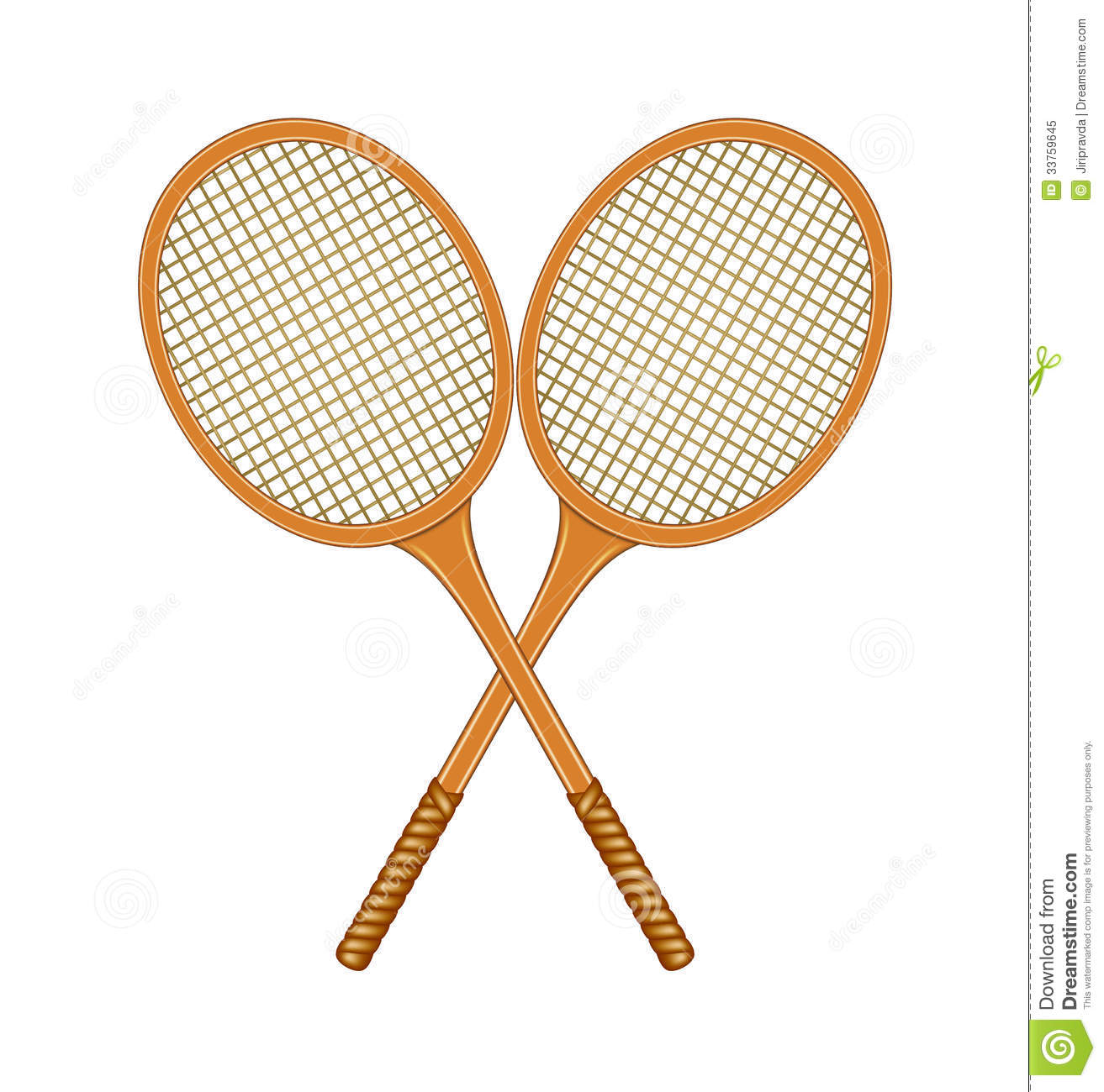 Two crossed rackets stock. Racket clipart 2 tennis graphic black and white stock