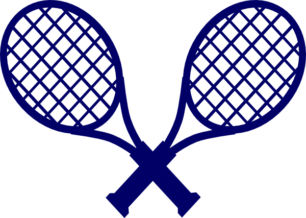 Rackets clip art at. Racket clipart 2 tennis picture library download