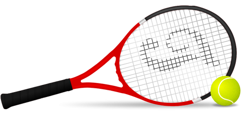 Racket clipart 2 tennis. Court at getdrawings com