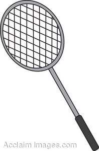 Badminton Racket Clip Art