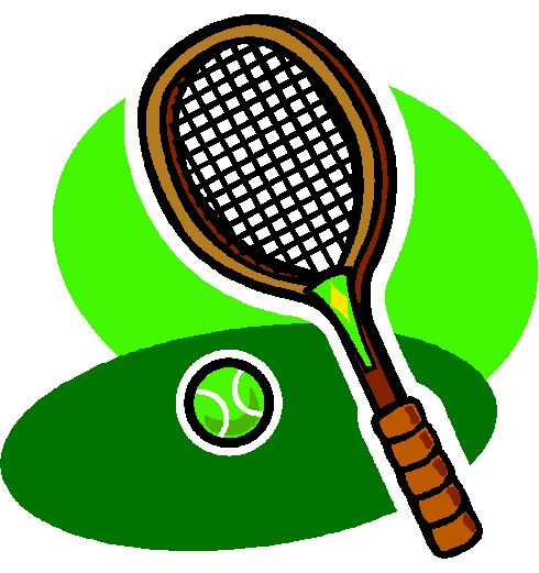 best sport clip. Racket clipart lawn tennis vector royalty free library