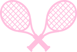 Racket clipart pink tennis racket. Rackets clip art at