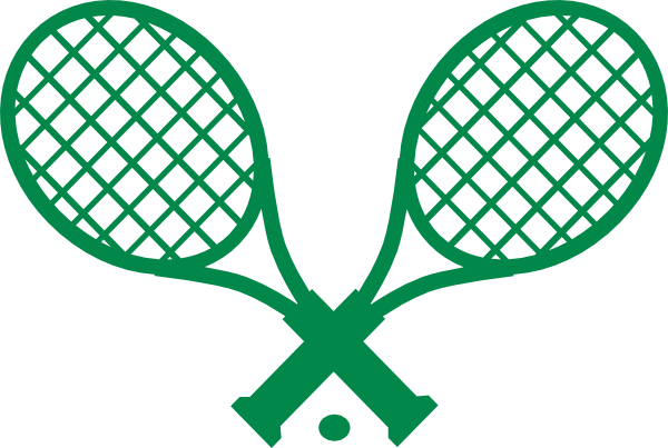 Racket clipart pink tennis racket. Panda free images crossedtennisracketclipart