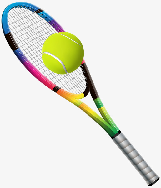Racket clipart pink tennis racket. Green png image and