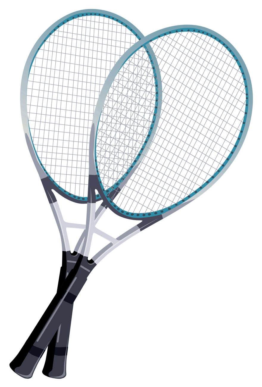Rackets png gallery yopriceville. Racket clipart racket sport banner transparent library