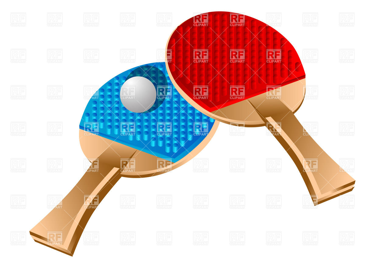 Table tennis rackets and. Racket clipart racket sport jpg library library