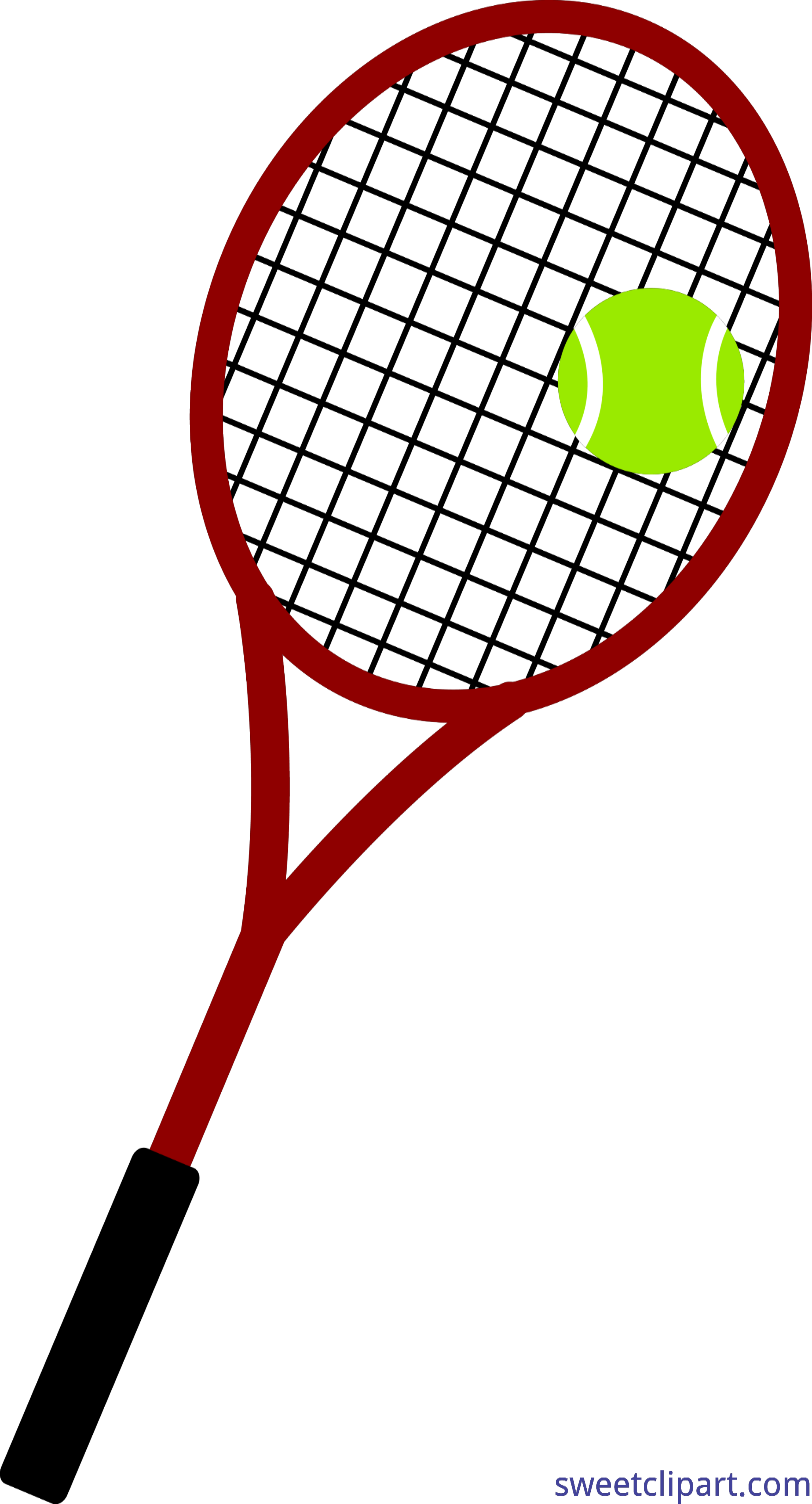 Racket clipart red tennis. Ball and clip art