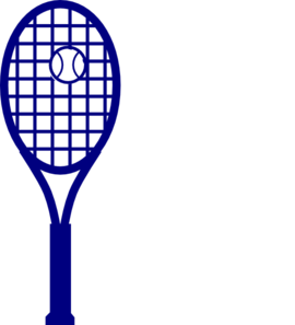 Racket clipart racket sport. Blue tennis clip art