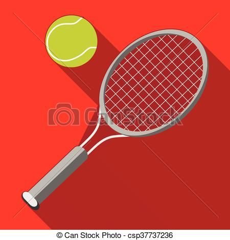 And ball with long. Racket clipart red tennis banner library library
