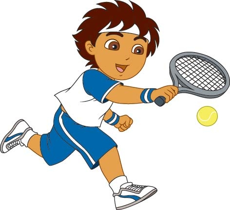 tennis clipart junior tennis