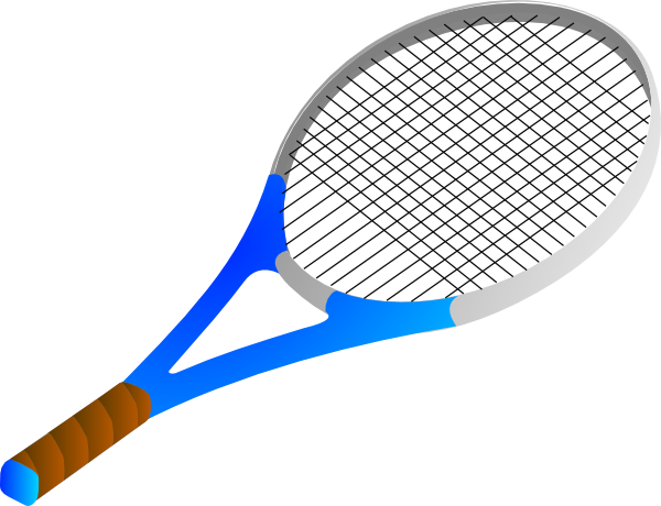Racket clipart vector. Tennis clip art free graphic free library
