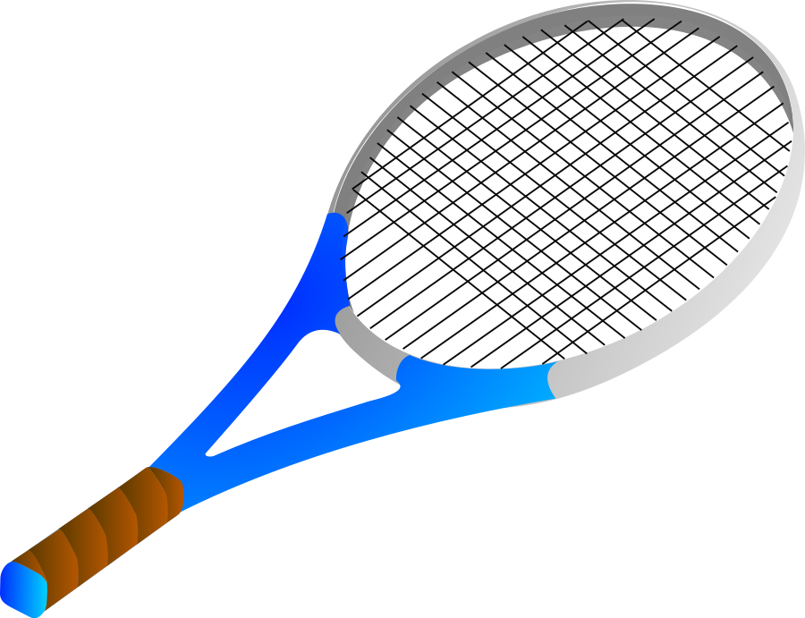Tennis panda free images. Racket clipart png library stock