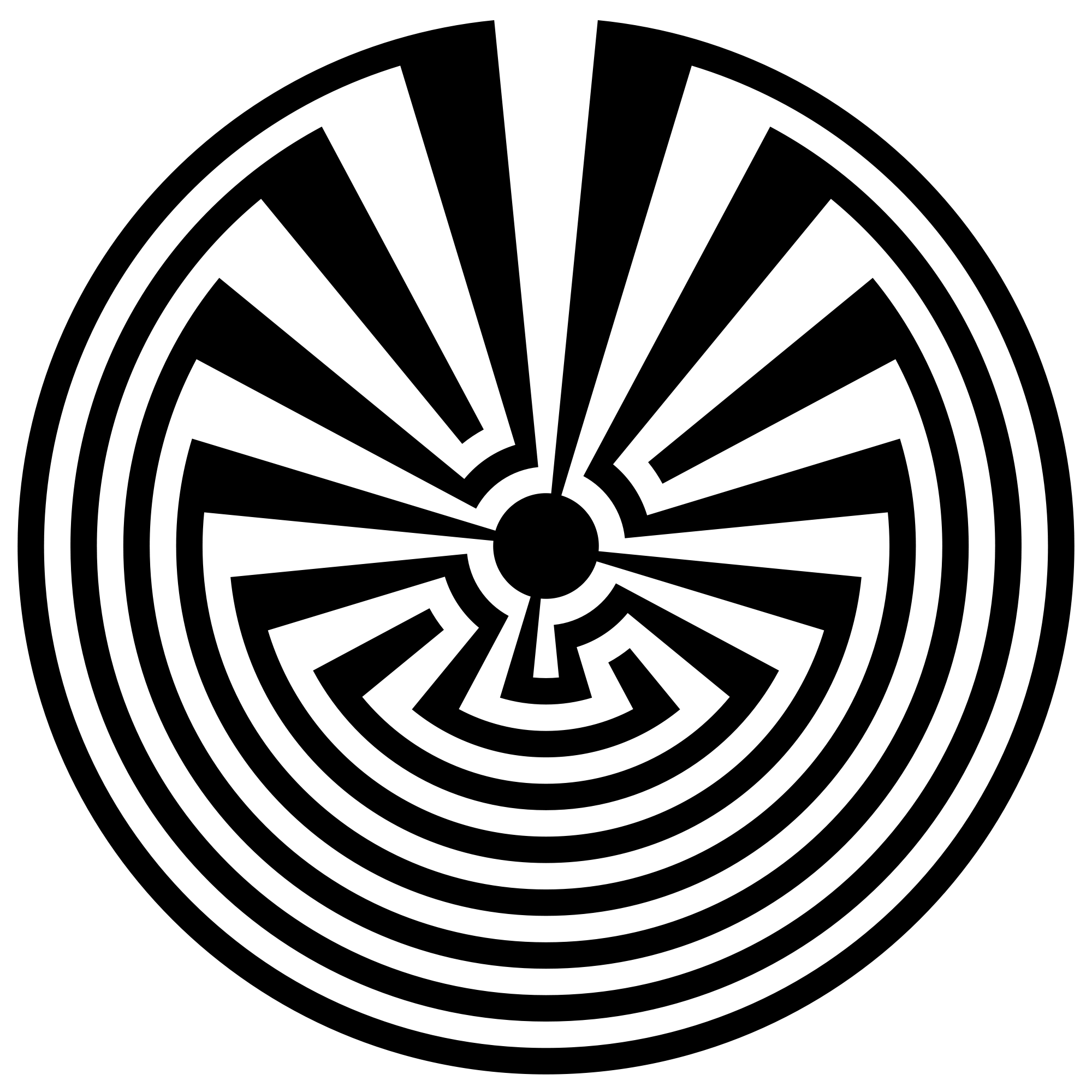Radial drawing man made. File labyrinth svg wikimedia