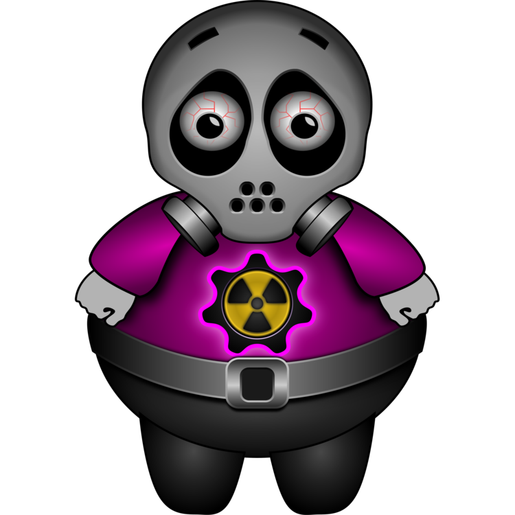 Radiation drawing art. Computer icons mask download