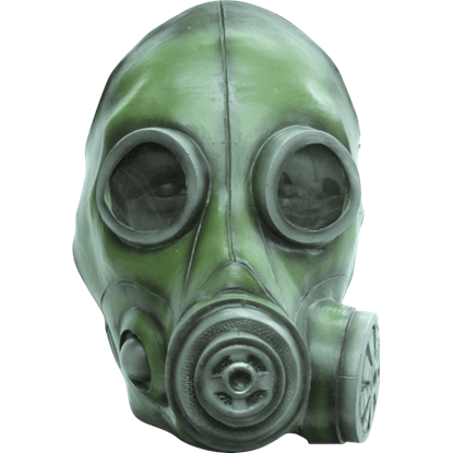 Radiation drawing gas mask. Masks military chemical and