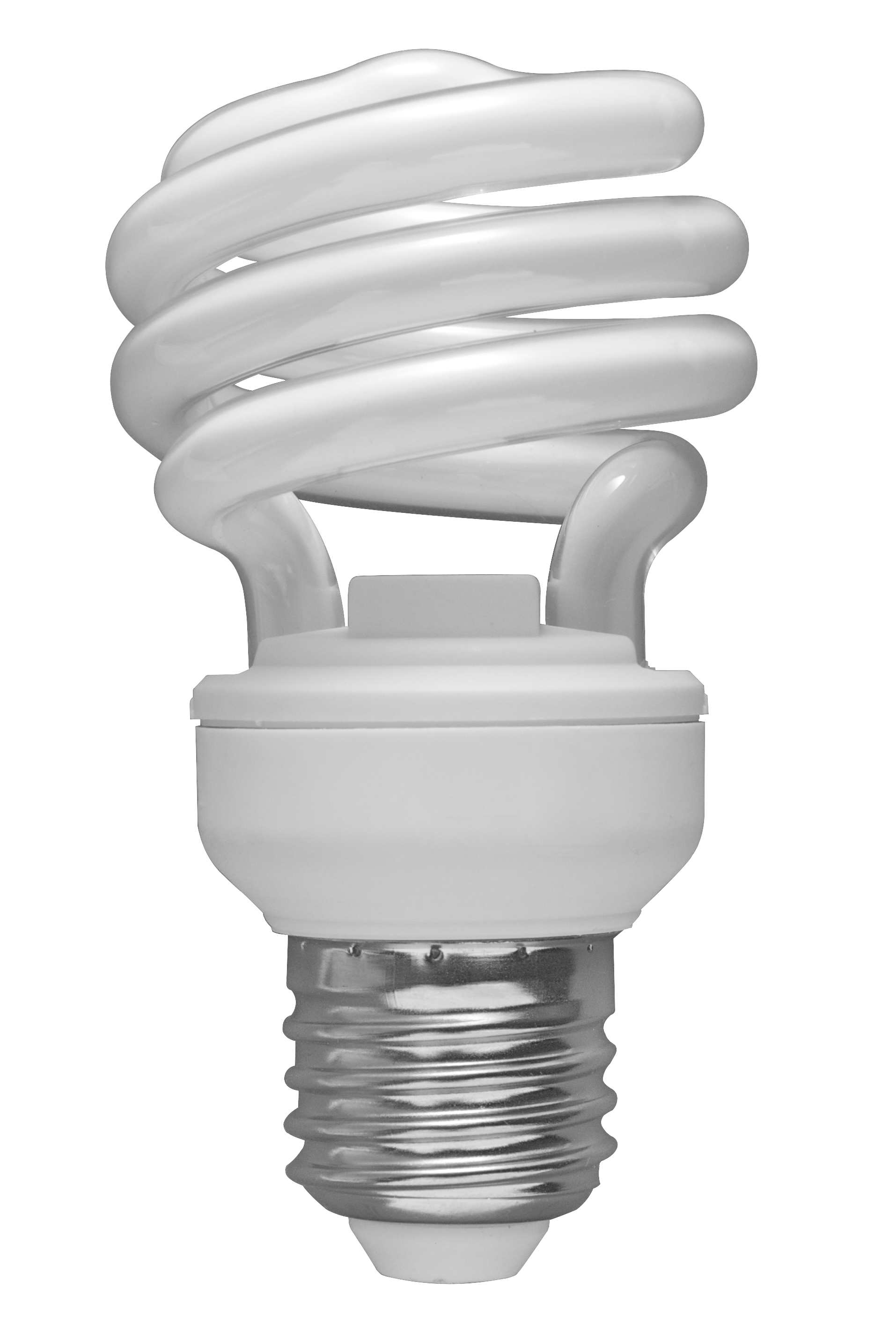 Radiation drawing light bulb. Use compact fluorescent bulbs