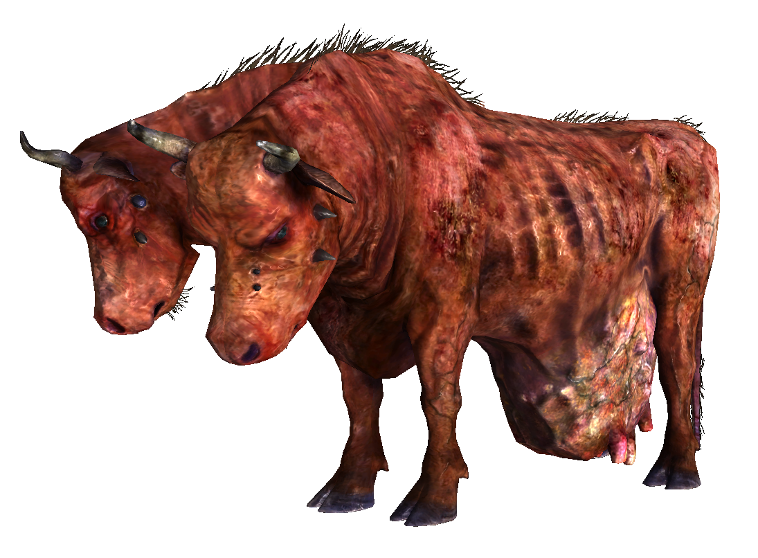 Radiation drawing mutated animal. Brahmin fallout wiki fandom