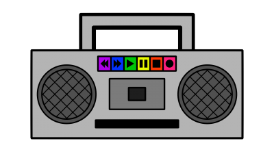 Cassette clipart transparent background radio. Download free png image