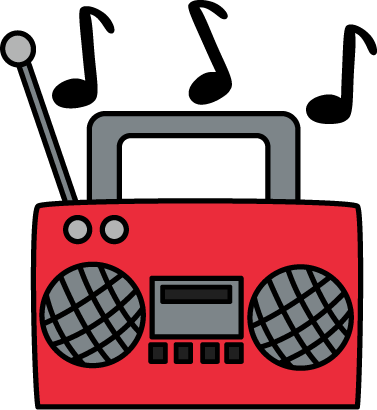 Radio clipart cute. Clip art cassette player
