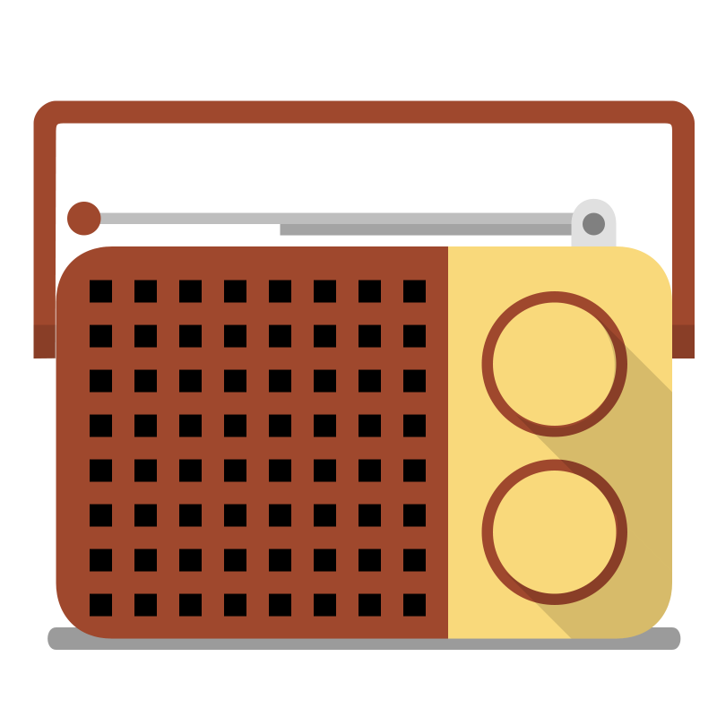 Radio clipart png. Clip art vintage cliparts