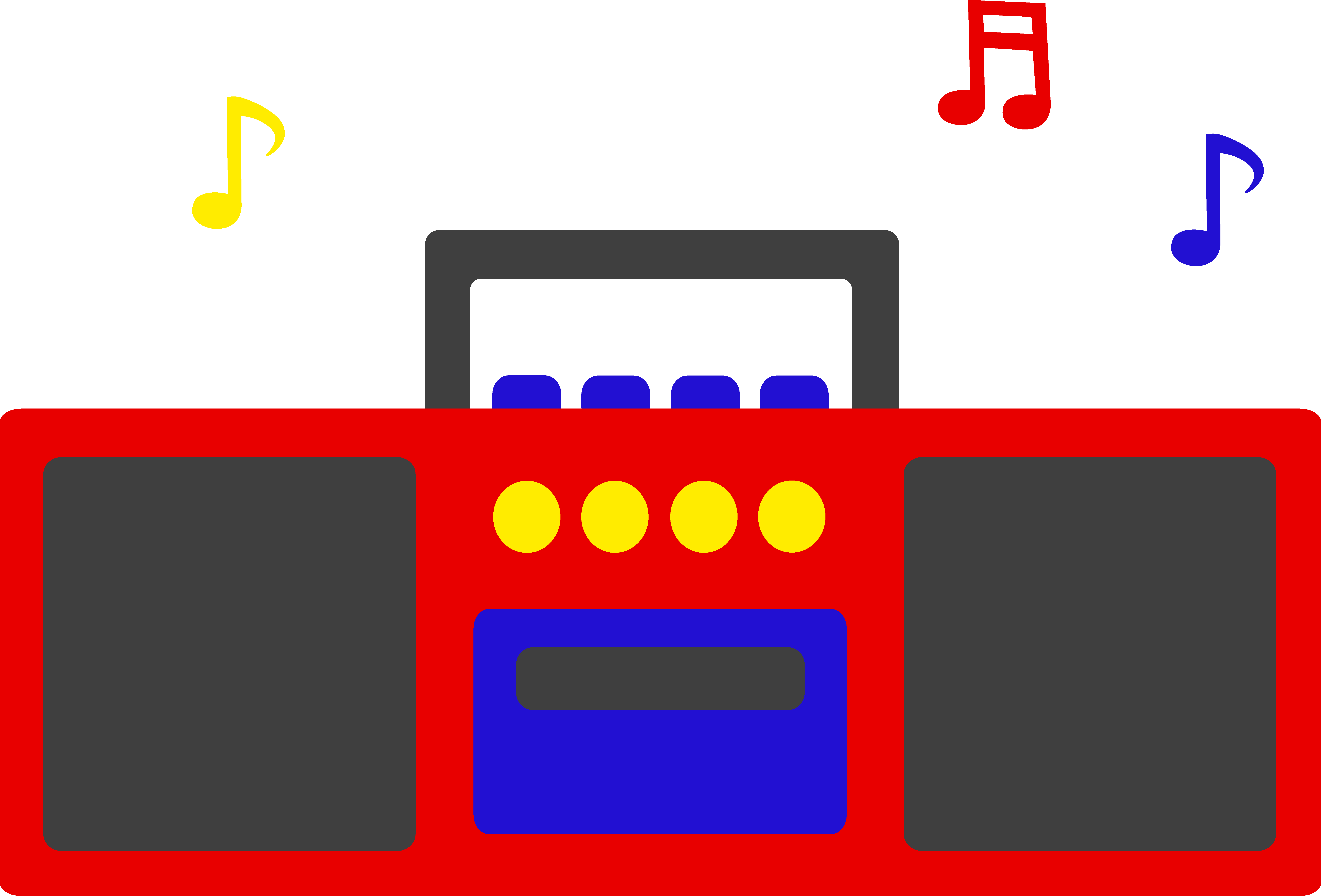Cassette clipart red. Free radio cliparts download